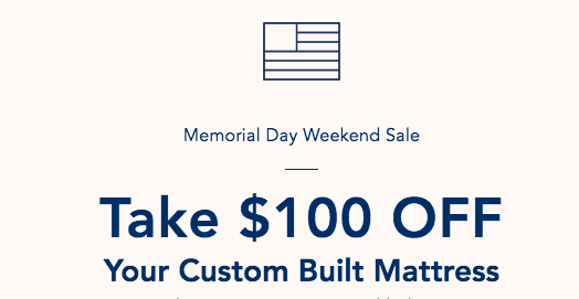 Helix Sleep Memorial Day sale