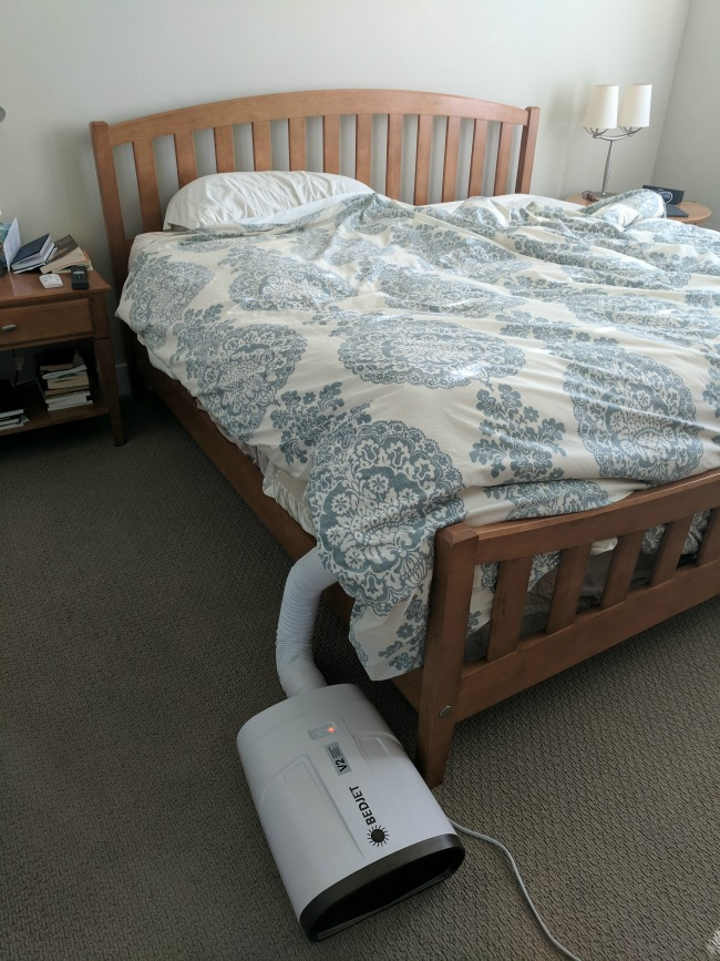 Bedjet Review Of The Bed Fan That Cools And Heats As Seen