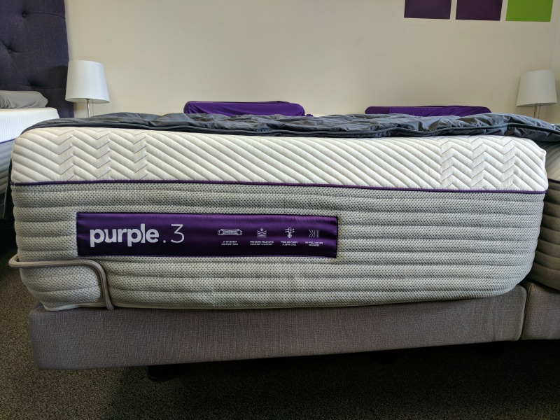 the new purple mattress comes with more gel springs. Black Bedroom Furniture Sets. Home Design Ideas