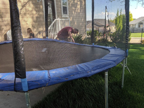 FRAUD: The Dangerous Trampoline I Bought on Amazon and How ...